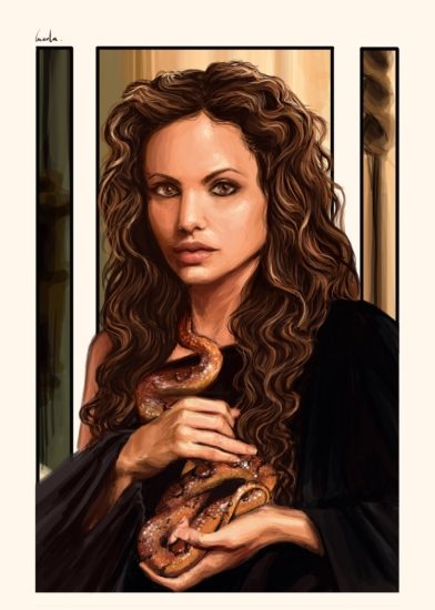 Angelina Jolie por Encore
